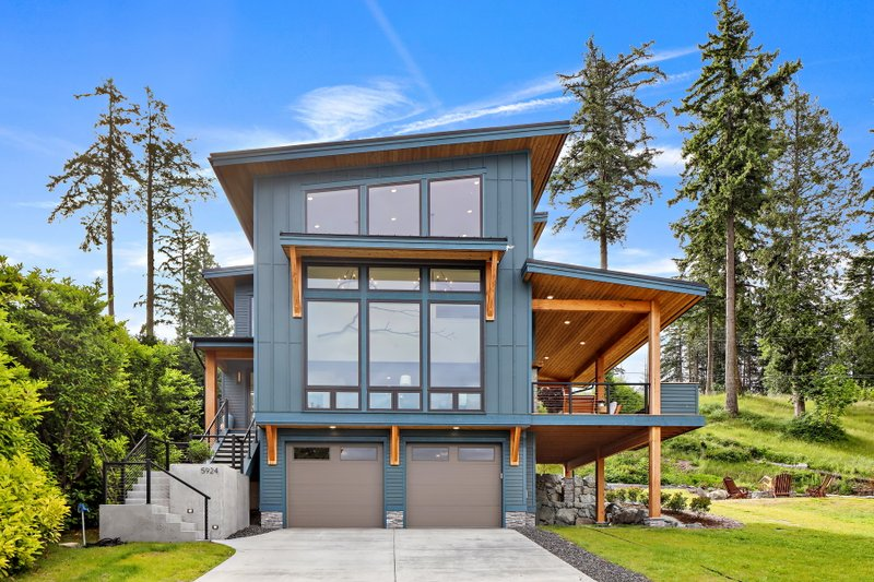 Modern House Plans Floor Plans Designs Houseplans Com