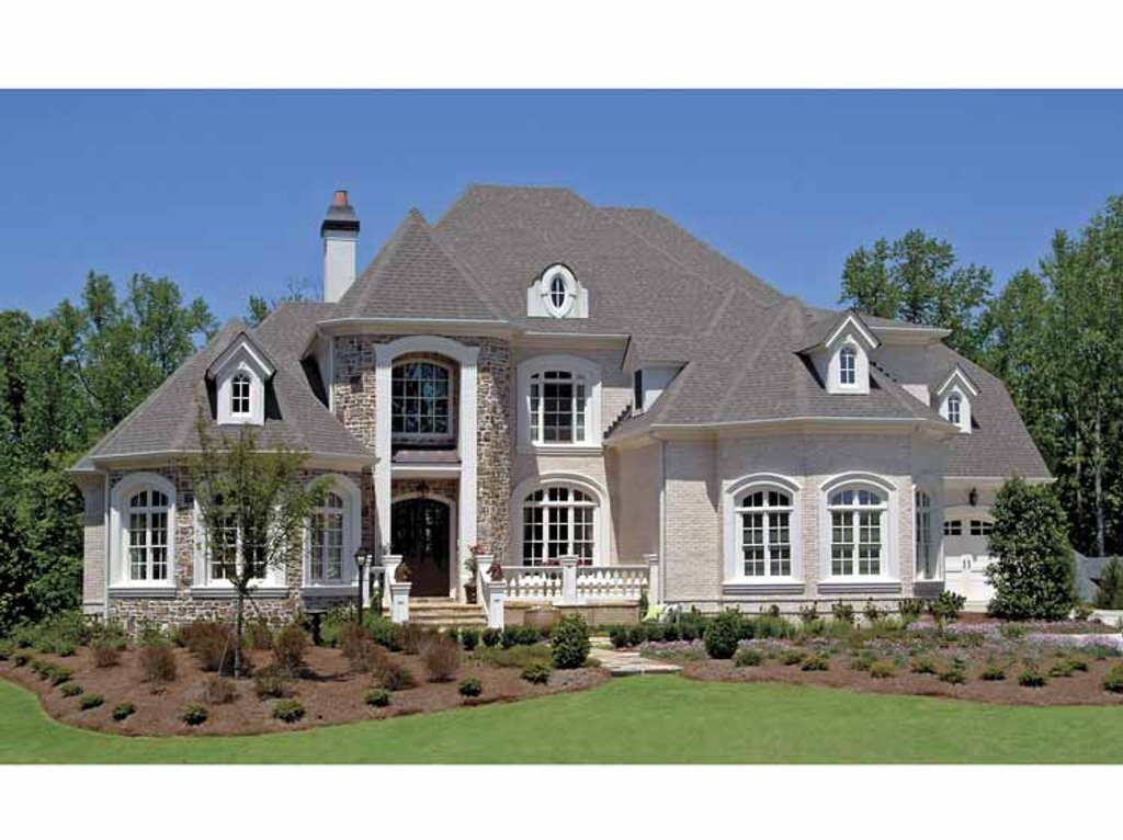European Style House Plan  5 Beds 45 Baths 4944 SqFt Plan 54283  Dreamhomesourcecom