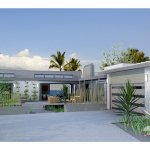 Contemporary Style House Plan 3 Beds 3 Baths 1350 Sq Ft Plan 484 12