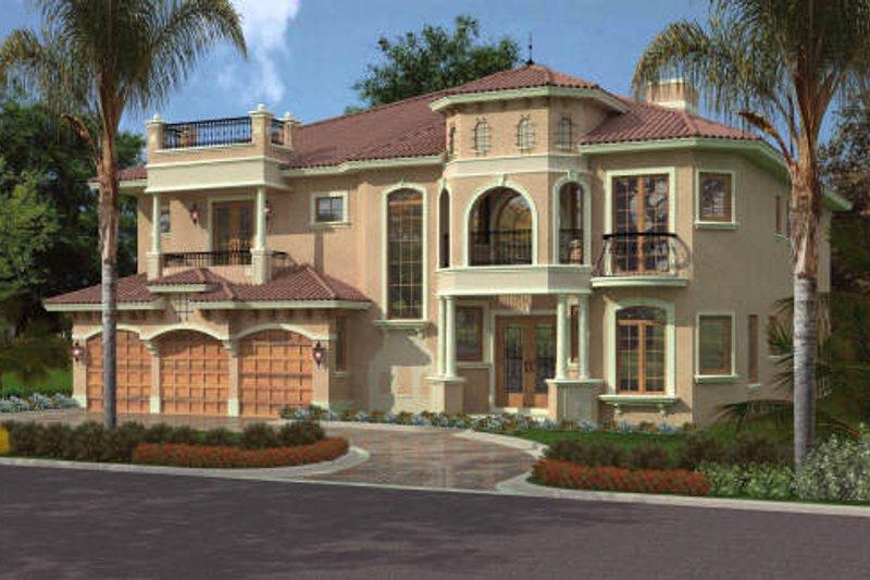 Mediterranean Style House Plan 5 Beds 6 5 Baths 5176 Sq