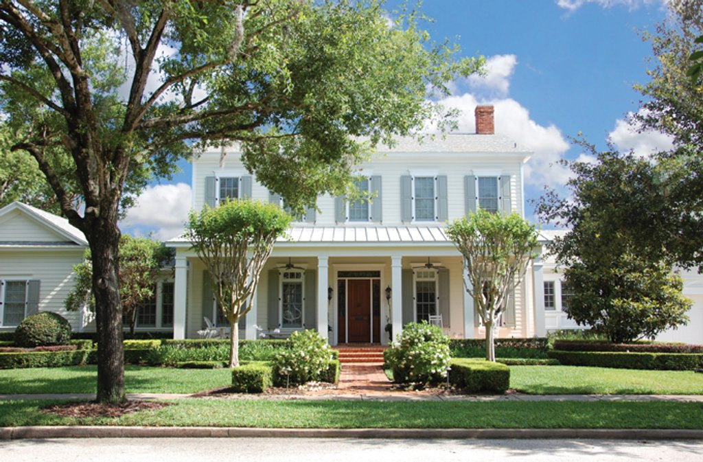Colonial Style House Plan 5 Beds 35 Baths 4457 SqFt