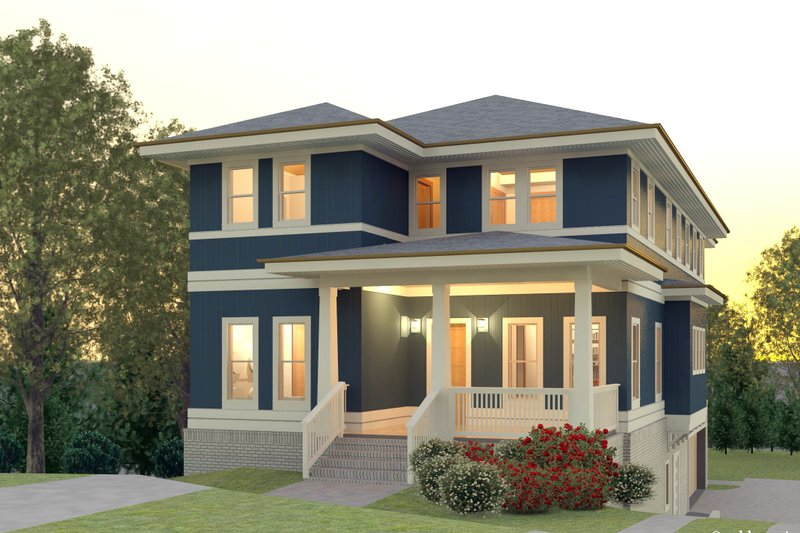 Contemporary Style House Plan 5 Beds 3 5 Baths 3193 Sq