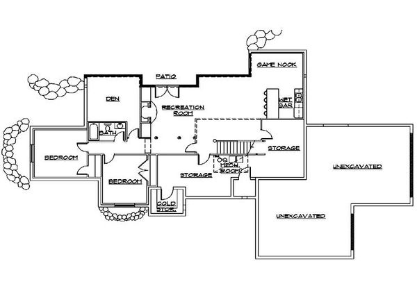 Ranch Style House Plan 4 Beds 3 Baths 2780 Sq Ft Plan 5