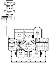 Southern Style House Plan - 6 Beds 6.5 Baths 9360 Sq/Ft ...