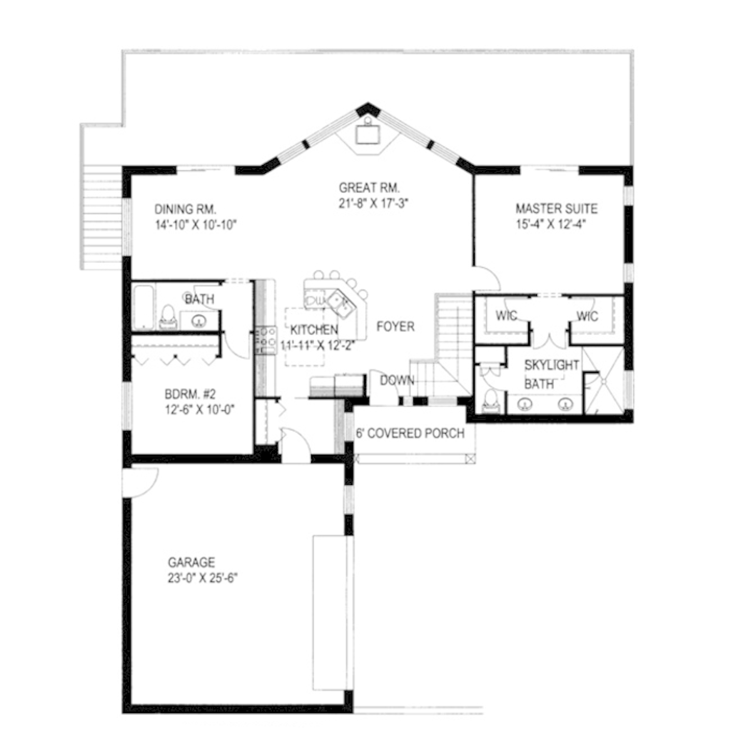 Ranch Style House Plan 4 Beds 3 Baths 3148 Sq Ft Plan