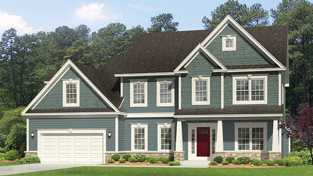 Traditional Style House Plan 4 Beds 2 5 Baths 2472 Sq Ft