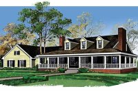 Country Style House Plan - 3 Beds 3.5 Baths 2747 Sq/Ft ...