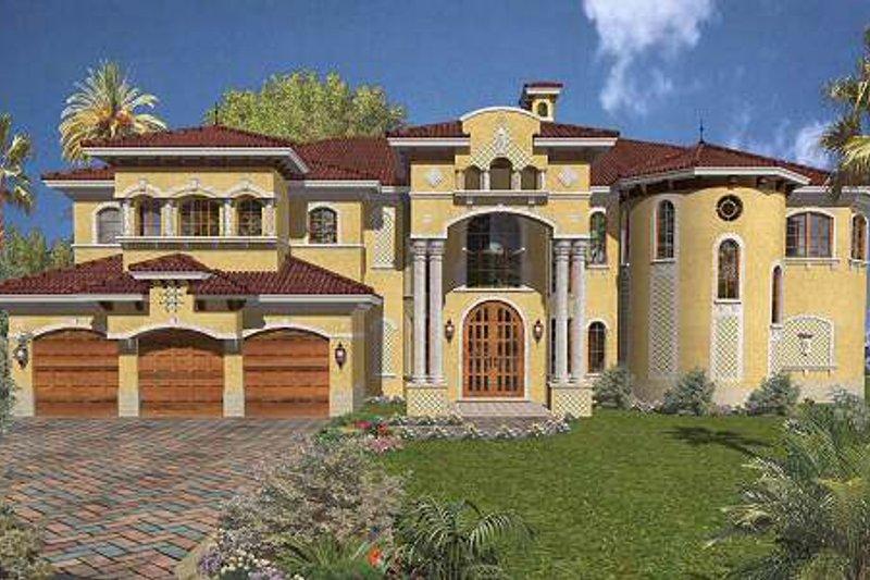 Mediterranean Style House Plan 6 Beds 7 5 Baths 7100 Sq