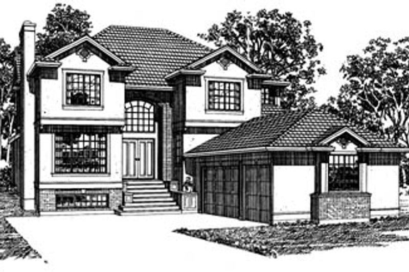 European Style House Plan 4 Beds 2 5 Baths 3207 Sq Ft