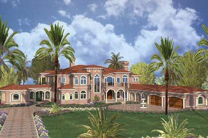 Mediterranean Style House Plan 7 Beds 9 5 Baths 11027 Sq