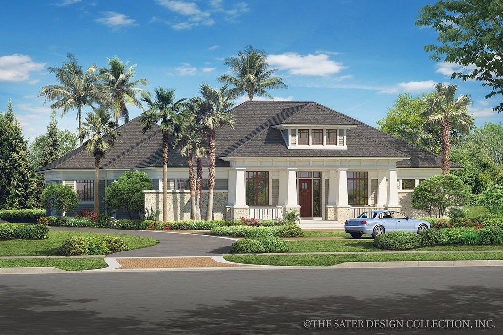 Bungalow Style House Plan 3 Beds 3 5 Baths 3108 Sq Ft