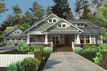 Bungalow House Plans Floor Plans & Designs Houseplans com