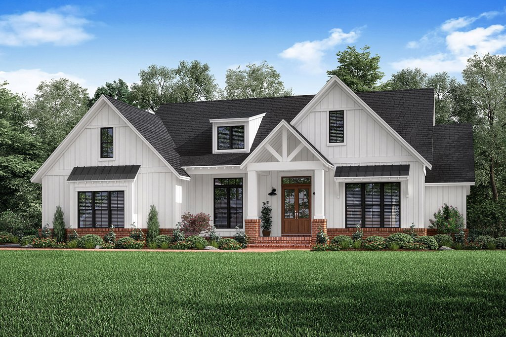 Craftsman Style House Plan 3 Beds 2 5 Baths 2303 Sq Ft Plan 1067 2 Houseplans Com