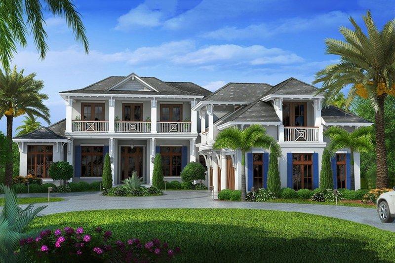 Beach Style House Plan 6 Beds 6 5 Baths 10605 Sq Ft Plan