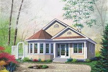 Cottage Style House Plan 2 Beds 1 Baths 1069 Sq Ft Plan