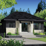 Contemporary Style House Plan 2 Beds 1 Baths 900 Sq Ft