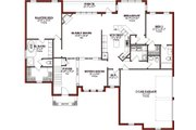 Traditional Style House Plan 4 Beds 4 5 Baths 2780 Sq Ft