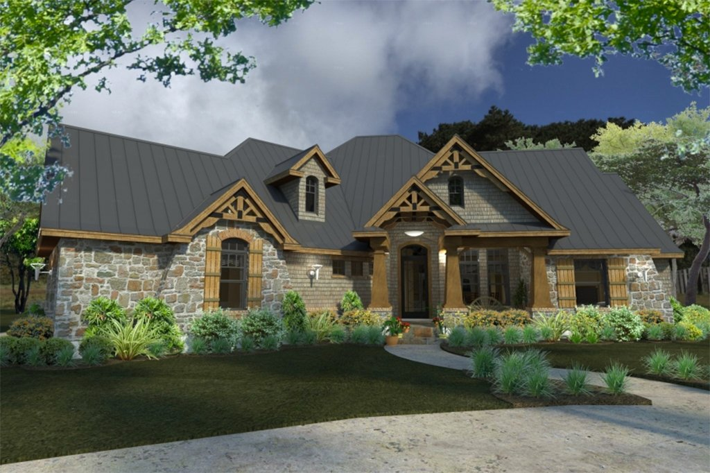 Craftsman Style House Plan 3 Beds 3 Baths 2847 Sq Ft Plan 120 172 Homeplans Com