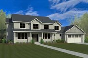 Craftsman Style House Plan 5 Beds 3 5 Baths 3221 Sq Ft
