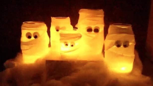 Howdinicom  DIY Glowinthedark Halloween decorations  celebrations