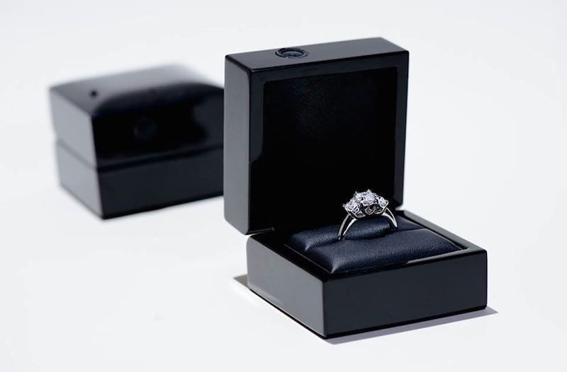 Image result for engagement ring box