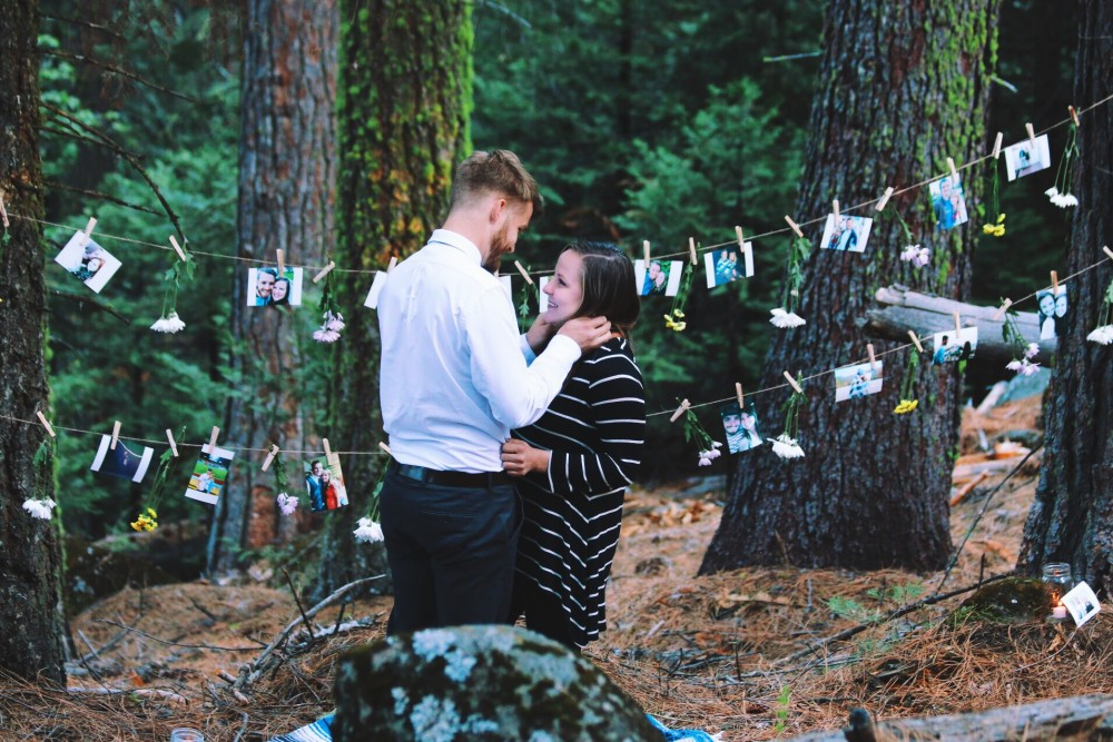 Lana And Nate's Picture Perfect Proposal In Sierra