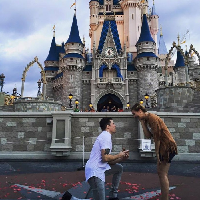 Kathryn And Timothys Magical Disney Proposal