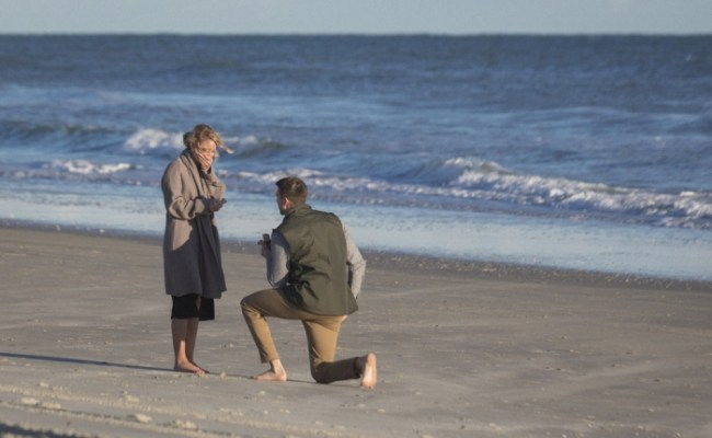 Katelin And Bryce S Proposal On The Knot S Howheasked