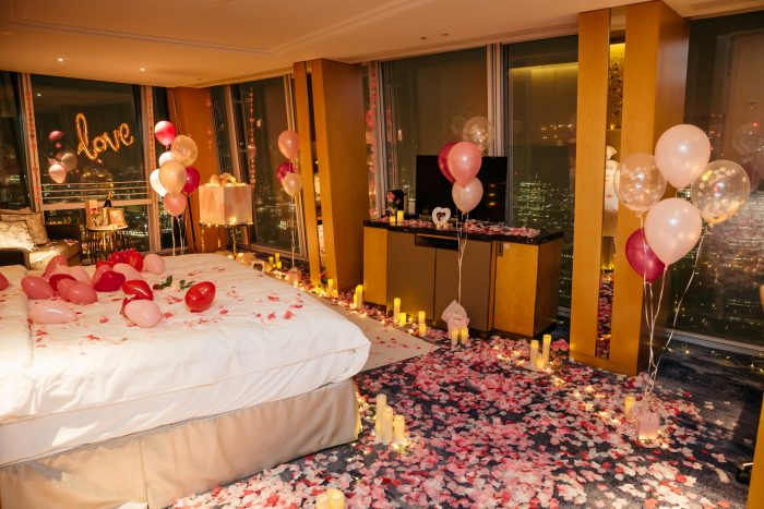 Man Turns Hotel Room Into Fairytale Surprise Proposal For