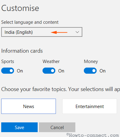 how to customise microsoft