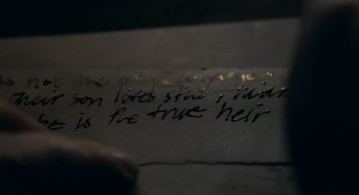 Game of Thrones Who Was Varys Writing to at the Beginning of Episode 5