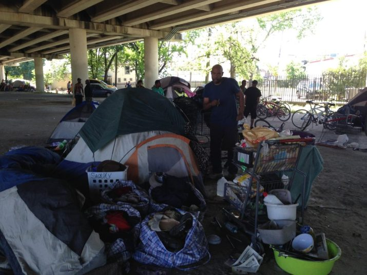 Image result for homeless tent city houston