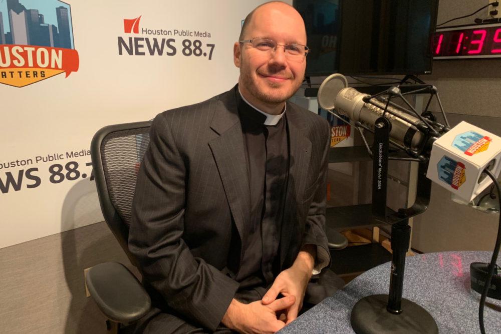Father Chris Valka, Univ. of St. Thomas