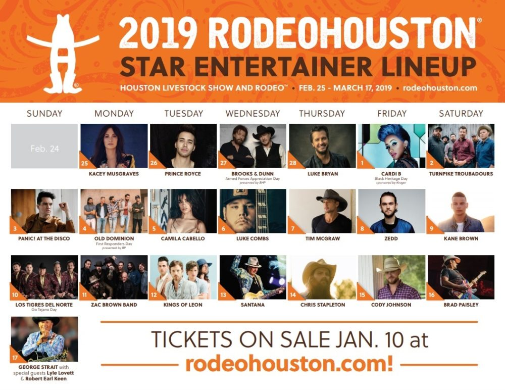 Hidalgo Recuses Herself From Two Lawsuits Rodeo 2019