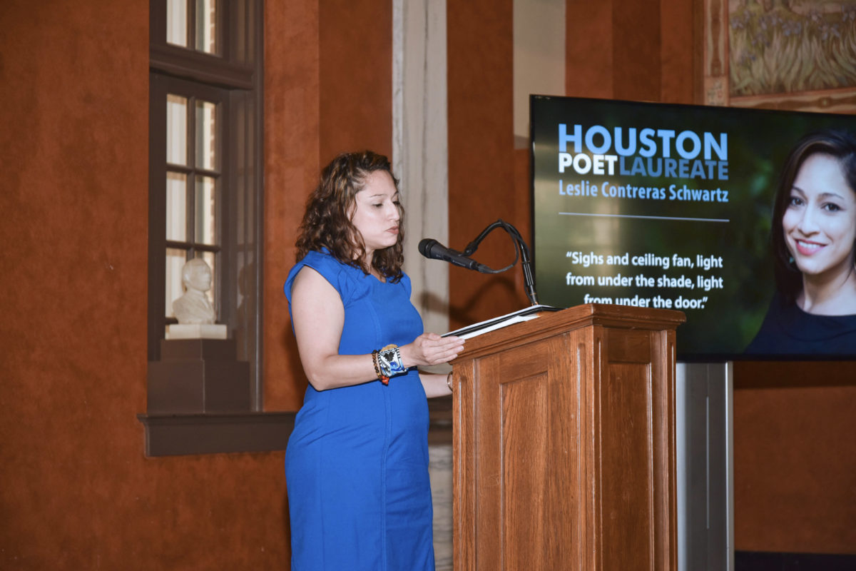 """Houston's New Poet Laureate Hopes To Change Lives And TUTS Presents """"Jerome Robbins' Broadway"""" – Houston Public Media"""