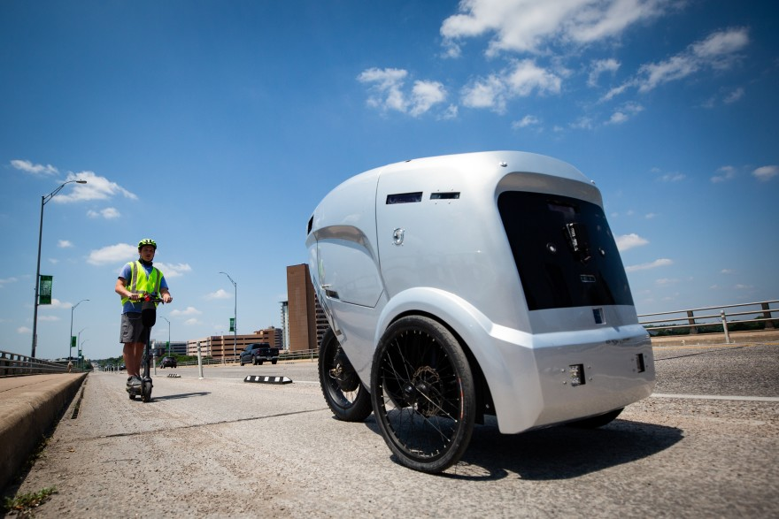 Some Austin cyclists are not happy about the robots using bike lanes