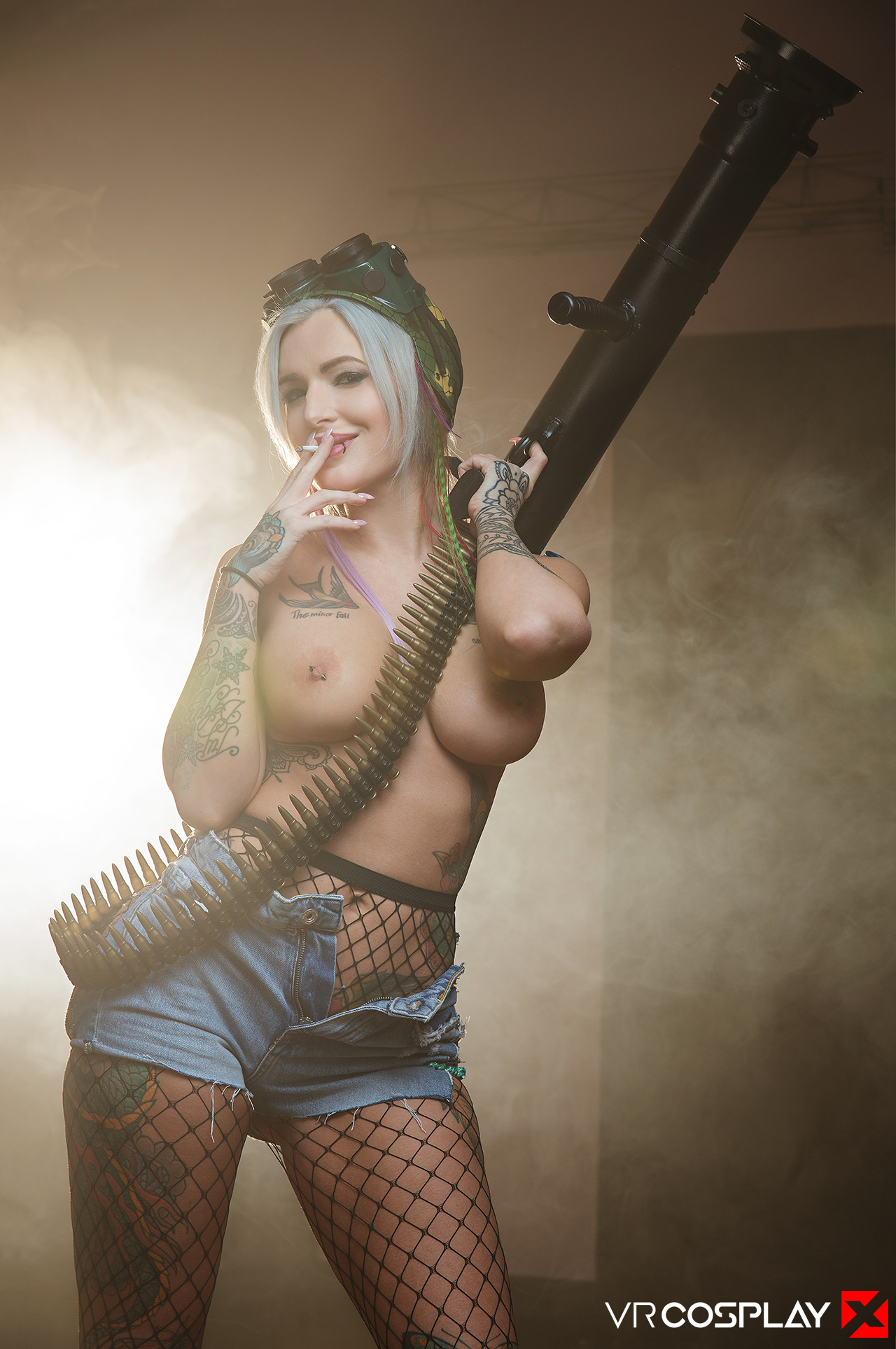 Alexxa Vice  Tank Girl Parody at HQ Sluts