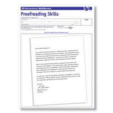 Proofreading Skills Online Test for Workplace Testing