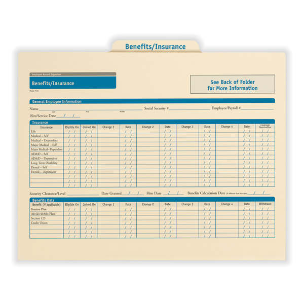 Employee Medical Record Organizer for Health Benefits