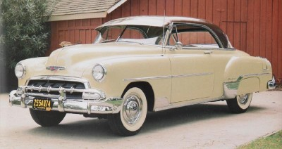 1952 chevrolet styleline and
