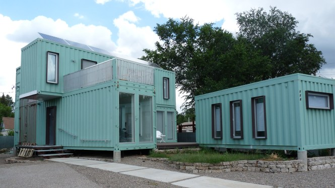 Living In A Shipping Container Home