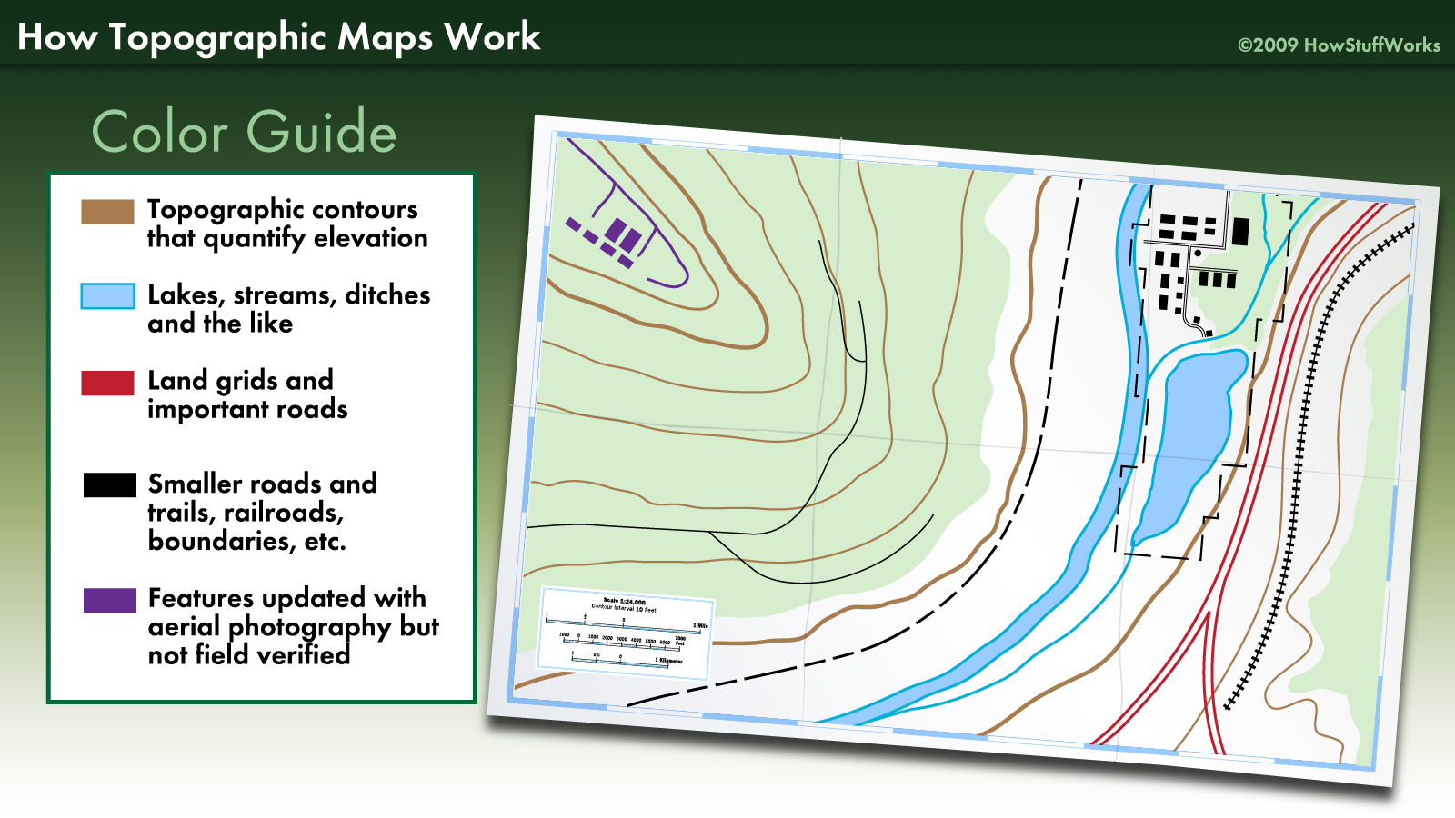 Topographic Map Elevation Lines Noel Paris