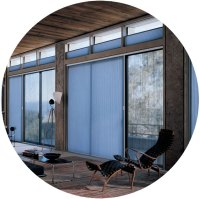 Patio & Sliding Glass Door Window Treatments | Hunter ...