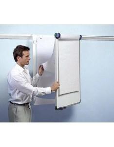 Nobo pro rail flipchart holder for wall hinged design  mm also rh huntoffice