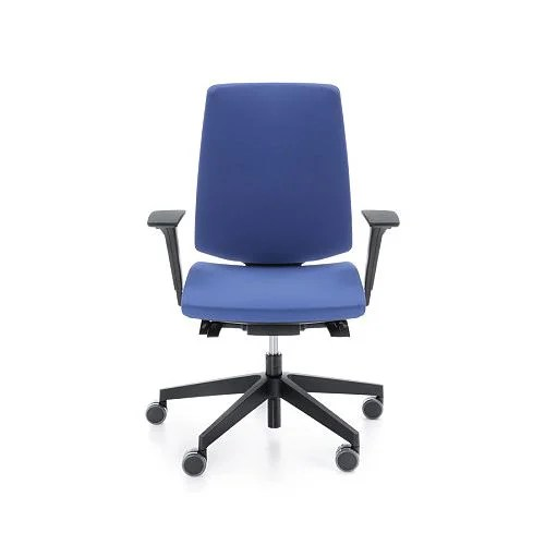 office chairs with back support uk chair sponge cushion lightup modern design ergonomic lumbar adjustable arms blue huntoffice co