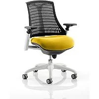 yellow office chair seat covers canada zeus task operator sunset huntoffice co uk flex white frame black back