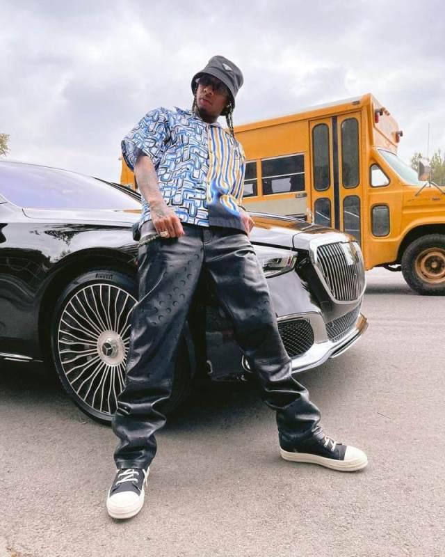 Hip-hop star Tyga. Photo: @tyga/Instagram