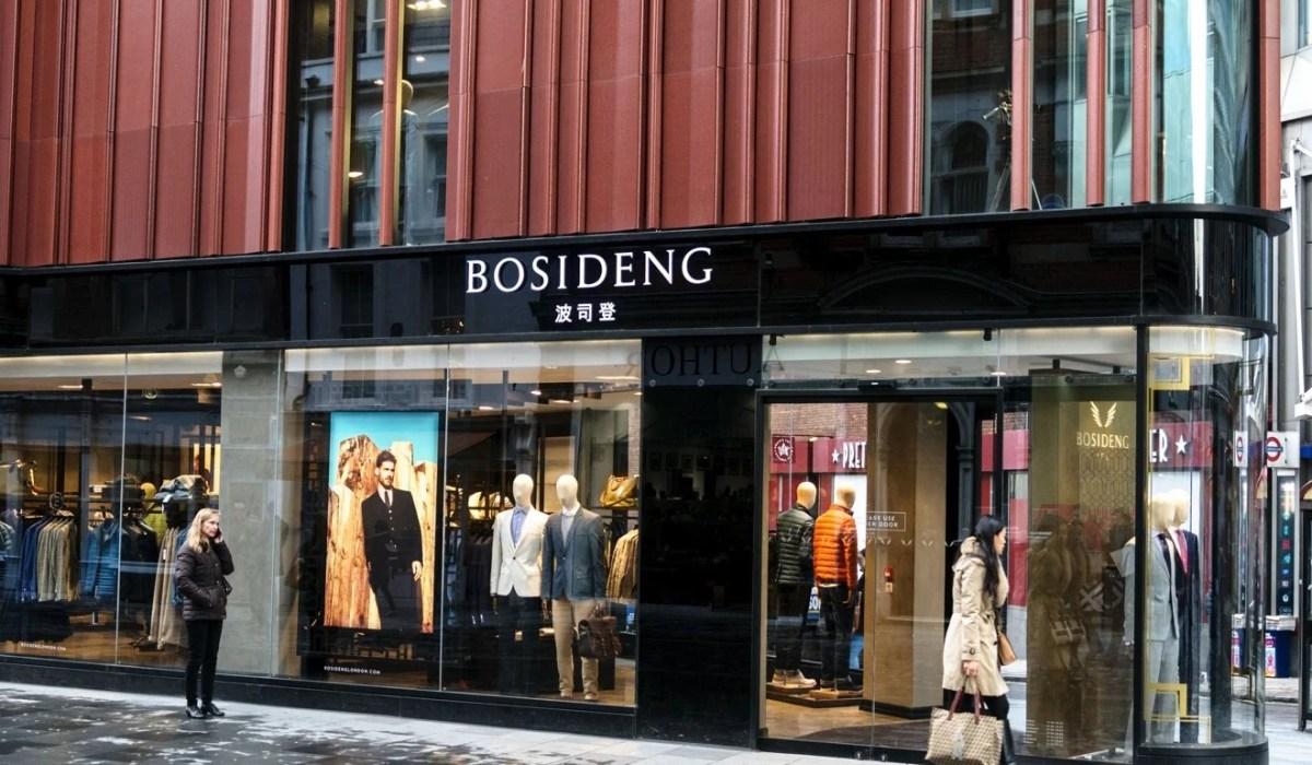 Bosideng's shop in London's Bond Street. Photo: Alamy