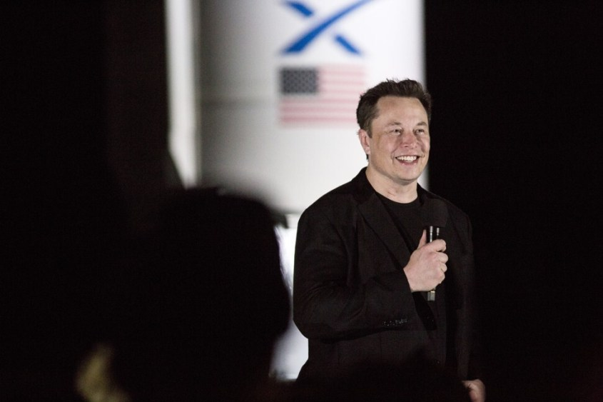Rocket man Elon Musk has left Warren Buffett, Phil Knight and Michael Bloomberg in his wealth wake. Photo: Bloomberg