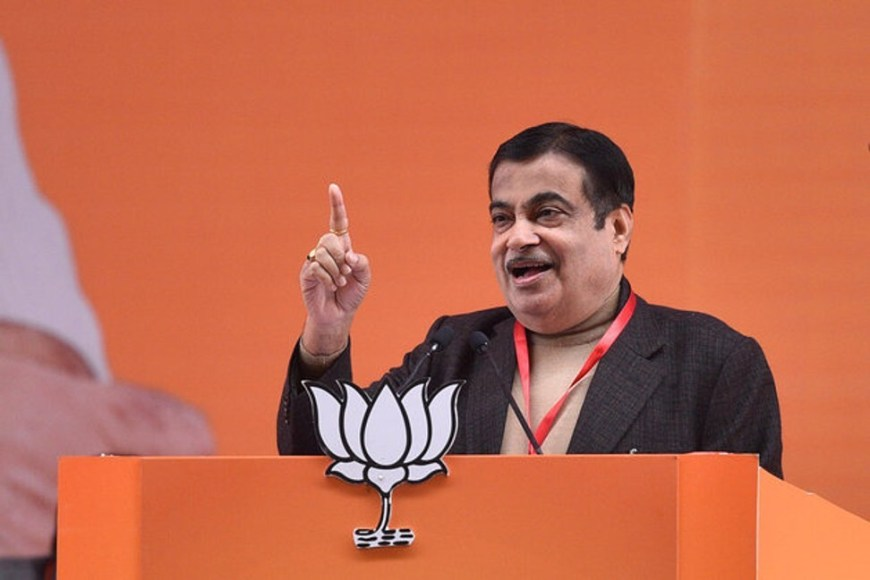 Nitin Gadkari, India's Minister for Road Transport and Highways, says Tesla must manufacture its electric cars in the South Asian country. Photo: Hindustan Times